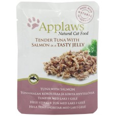 Applaws Tuna Wholemeat with Salmon in Jelly - с риба тон и сьомга в желе 70 гр.