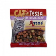 Antos Cat Treats Beef - снакс телешко 60 гр.