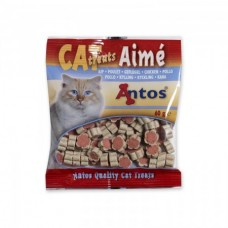 Antos Cat Treats Chicken - снакс пилешко 60 гр.