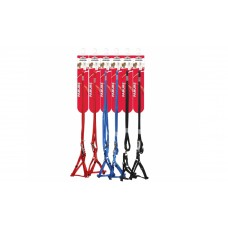 Camon Parure Nylon - повод с нагръдник за кучета с обиколка на гърдите до 35 см. / червен, черен, син /