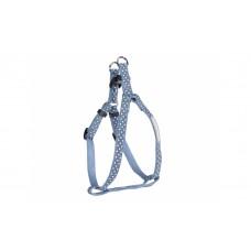"""Camon Collar leash and harness """"Elegance"""" - нагръдник, за кучета с обиколка на гърдите до 50 см. / червен, син /"""