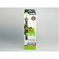 Aquael Comfort Zone Gold - нагревател с термостат 25 W, за аквариуми 10 - 25 литра.
