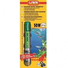 Sera - регулируем нагревател за сладко и соленоводни аквариуми 50 W