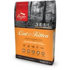 Orijen Cat & Kitten - пълноценна храна както за малки котенца, така и за котки в зряла възраст 5.4 кг.