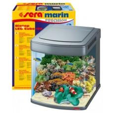 Sera Marin PRECISION Biotop LED Cube 130 Напълно оборудван морски аквариум