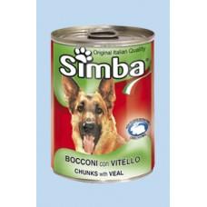 Monge Simba bocconi con carne - с телешко месо 1240 гр.