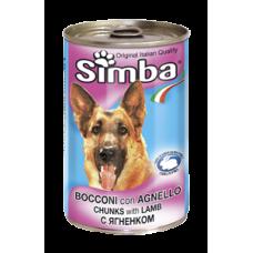 Monge Simba bocconi con agnello - с агнешко 1240 гр.