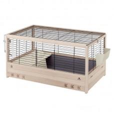 Ferplast Arena 100 - клетка с пълно оборудване, за мини зайчета 100 / 62,5 / h 51 cm