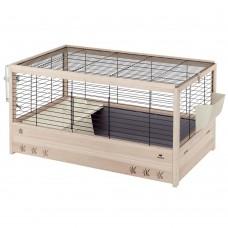 Ferplast Arena 120 - клетка с пълно оборудване, за мини зайчета 125 / 64,5 / h 51 cm
