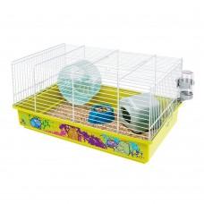Ferplast Cage Criceti 9 Decor - клетка за хамстери оборудвана 46 x 29.5 x 23 cm