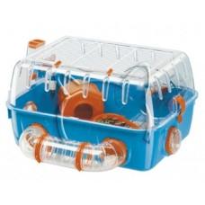 Ferplast Cage Combi 1 - оборудвана клетка за хамстери 40.5 x 29.5 x h 22.5 cm