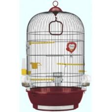 Ferplast Cage Diva Black- кафез за малки птички с пълно оборудване ø 40 x 65 cm