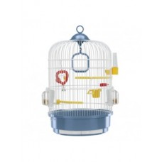 Ferplast Cage Regina White - кръгла клетка за малки птици ø 32.5 x 49 cm