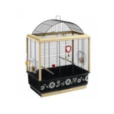 Ferplast Cage Palladio 3 Black Decor - клетка за птици 49 x 30 x 64 cm
