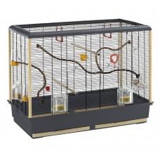 Ferplast Cage Piano 6 - клетка за малки птички с пълно оборудване 87 x 46.5 x 70 cm