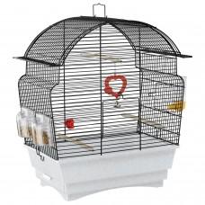 Ferplast Cage Rosa - клетка с пълно оборудване за канарчета, финки или вълнисти папагали 46.5x28x54 cm