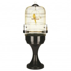 Ferplast Cage Mаx 6 Brass + Stand - клетка за средни и големи папагали + стойка ø 53 x 165 cm