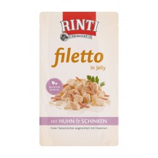 Rinti Filetto Chicken & Ham - с пилешко месо и шунка 125 грама