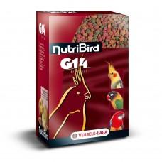 Versele Laga NUTRIBIRD G14 Tropical - пълноценна екструдирана храна за средни папагали 1 кг.