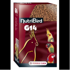 Versele Laga NUTRIBIRD G14 Original - пълноценна екструдирана храна за средни папагали 1 кг.