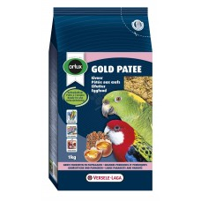 Versele Laga Gold Patee Parakeet and Parrots - мека яйчна храна за средни и големи папагали 1 кг.
