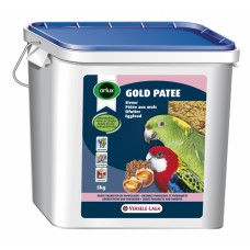 Versele Laga Gold Patee Parakeet and Parrots - мека яйчна храна за средни и големи папагали 5 кг.