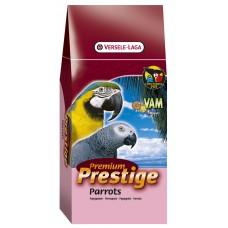 Versele Laga Premium Prestige Parrot - пълноценна храна за големи папагали 2.5 кг.
