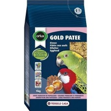 Versele Laga Gold Patee Parakeet and Parrots - мека яйчна храна за средни и големи папагали 1 кг.