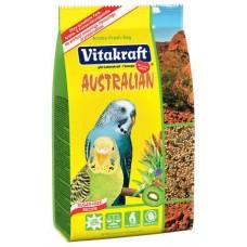 Vitakraft australian sitich - храна за вълнисти папагали с богата витаминна формула 800 гр.