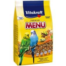 Vitakraft menu vital honey - пълноценна храна с мед за вълнисти папагали 500 гр.