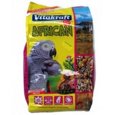 Vitakraft afrikan - пълноценна храна за големи африкански папагали (жако) 750гр.