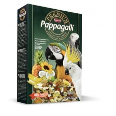 Padovan Premium Papagalli - пълноценна храна плодов микс за големи папагали 500 грама