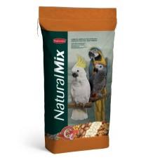 Padovan NaturalMix Pappagalli - пълноценна храна за постигане на здравословен растеж на големите папагали 20 кг.