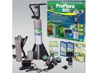 JBL ProFlora m602 - професионална система за въглероден двуокис с бутилка 500 грама, за многократна употреба и електромагнитен клапан, за аквариуми до 600 литра