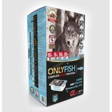 Alpha Spirit Only Fish - полусуха храна 85% мляко , прясно месо 5.67кг ( 27 мондози по 210 грама)