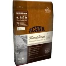 Acana Grain Free Ranchlands  (червено месо) - за кучета над 12 месеца,подходяща за всички породи 11.4 кг.