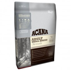 Acana Adult Small Breed - биологично съответстваща храна за кучета до 10 килограма тегло и възраст над 12 месеца  6 кг.