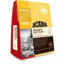 Acana Puppy and Junior - биологично съответстваща храна за кучета от 9 до 25 кг. и възраст от 2 до 12 месеца 11.4 кг.