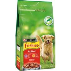 Friskies Active - пълноценна храна за активни кучета,кучета живеещи на открито, бременни и кърмещи  10 кг.